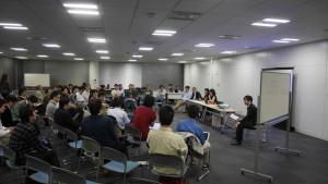 「緊急開催! Mozilla CTO Andreas Galと語る会」の様子
